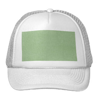 Sage Green Faux Linen Fabric Textured Background Cap