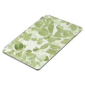 Sage Green Leaf Pattern, Vintage Inspired iPad Air Cover