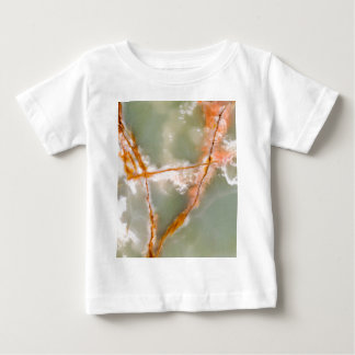 Sage Green Quartz with Rusty Veins Baby T-Shirt