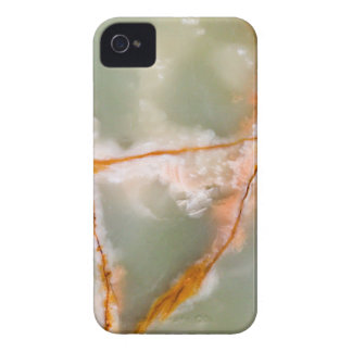 Sage Green Quartz with Rusty Veins iPhone 4 Cover