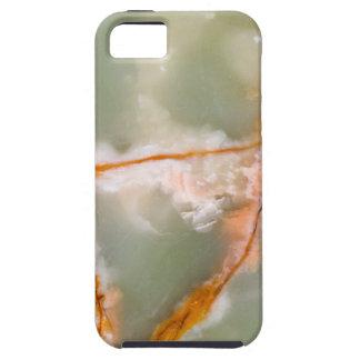 Sage Green Quartz with Rusty Veins iPhone 5 Case