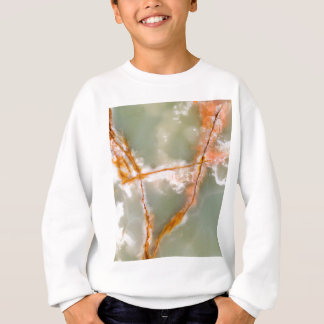 Sage Green Quartz with Rusty Veins Sweatshirt