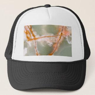 Sage Green Quartz with Rusty Veins Trucker Hat