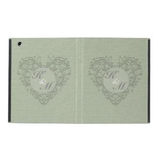 Sage HeartyChic iPad Folio Case