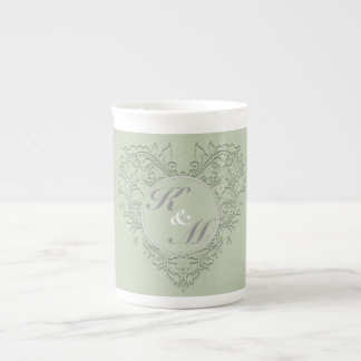 Sage HeartyChic Tea Cup