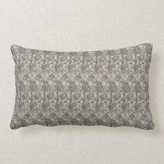 Sage Herbal Small Print Lumbar Pillow