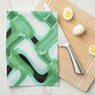 Sage & Ivory Kitchen Towel by Artist C.L. Brown