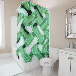 Sage & Ivory Shower Curtain by Artist C.L. Brown