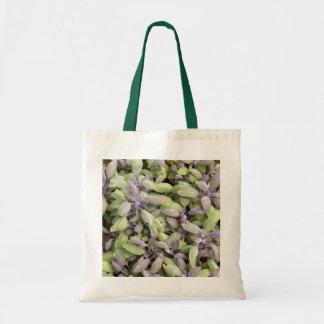 Sage-leaf design Tote Bag
