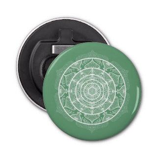 Sage Mandala Bottle Opener