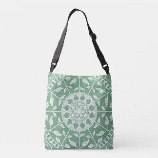 Sage Mandala Crossbody Bag