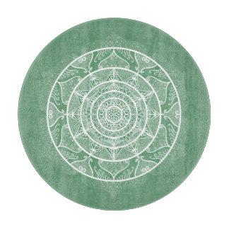 Sage Mandala Cutting Board