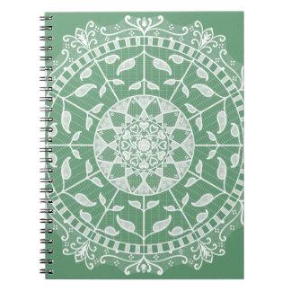 Sage Mandala Notebooks