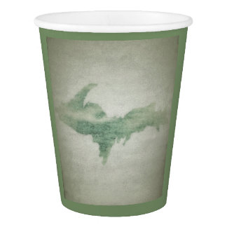 Sage Michigan Upper Peninsula Paper Party Cup