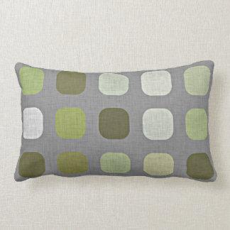 Sage Green Lumbar Cushions Rectangular Sage Green