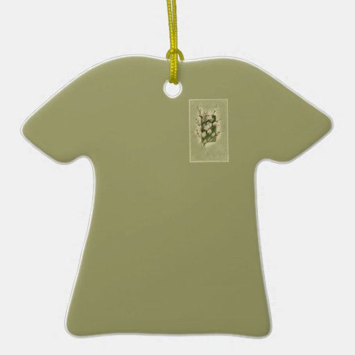 Sage Pocket T-Shirt Pussy-Willow Ornament