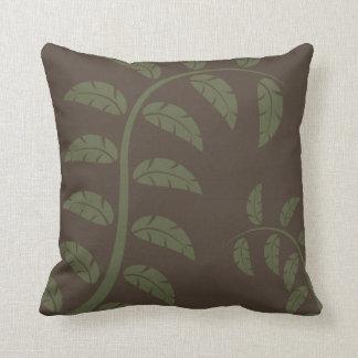 Sage Vines Throw Pillow