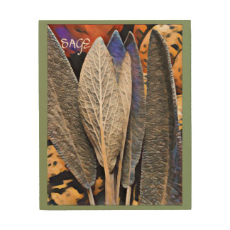 Sage Wood Wall Art