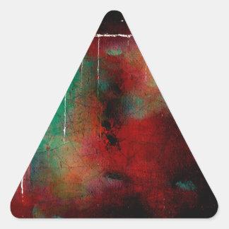 Saggar Inspirations Triangle Sticker