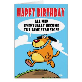 SAGGYHAIRYARSE Birthday card