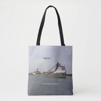 Saginaw all over tote bag