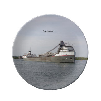 Saginaw decorative plate