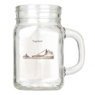 Saginaw mason jar