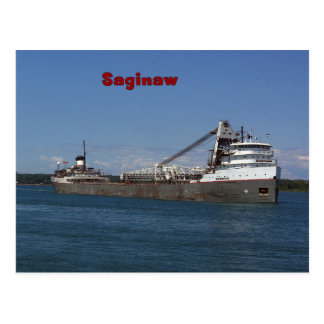 Saginaw post card