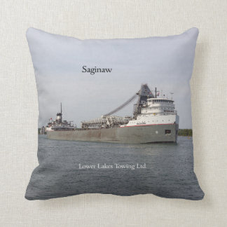 Saginaw square pillow