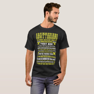 Sagittarians Difficult Ones To Understand Zodiac T-Shirt