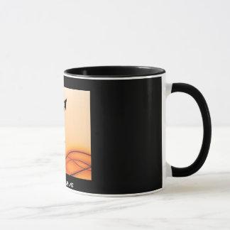 """SAGITTARIUS"" 11 oz. ZODIAC RINGER COFFEE MUG"