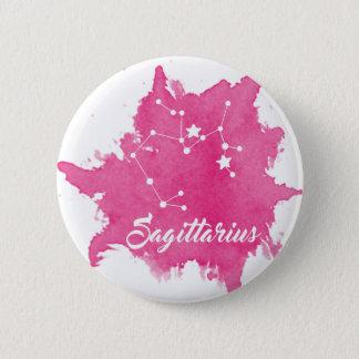 Sagittarius 6 Cm Round Badge