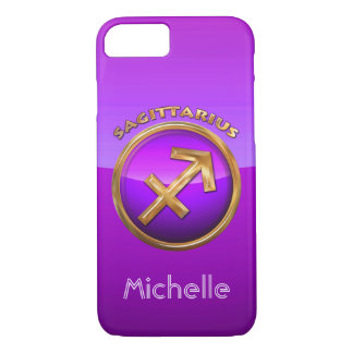 Sagittarius Astrological Sign iPhone 7 Case