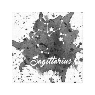 Sagittarius Black Wall Art