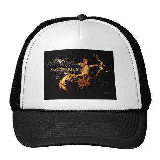 Sagittarius Cap - Zodiac Symbols Mesh Hats