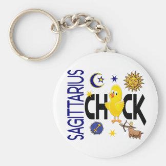 Sagittarius Chick 1 Key Chain