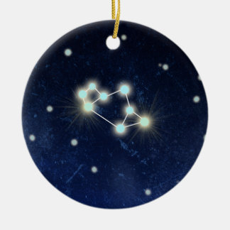 Sagittarius Constellation | Custom Name Ceramic Ornament