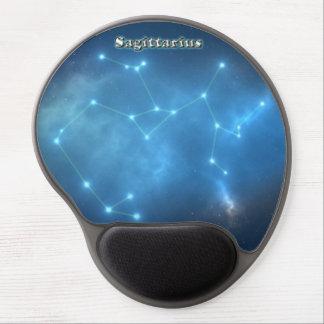 Sagittarius constellation gel mouse pad
