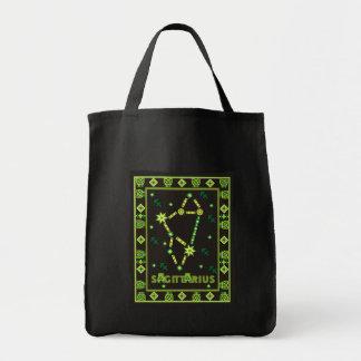 Sagittarius Constellation Grocery Tote Bag