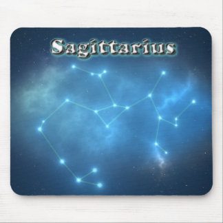 Sagittarius constellation mouse pad