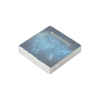Sagittarius constellation stone magnet