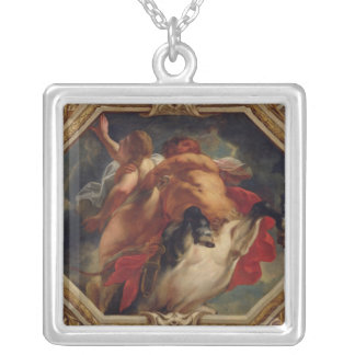 Sagittarius, from the Signs of the Zodiac Square Pendant Necklace