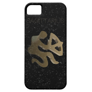 Sagittarius golden sign iPhone 5 cases