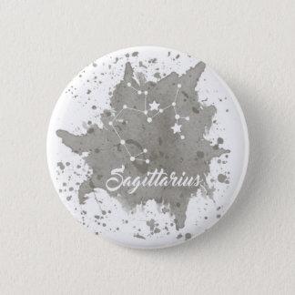 Sagittarius Gray Button