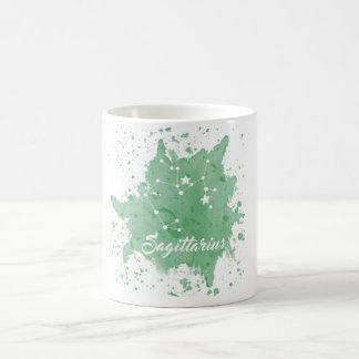 Sagittarius Green Mug