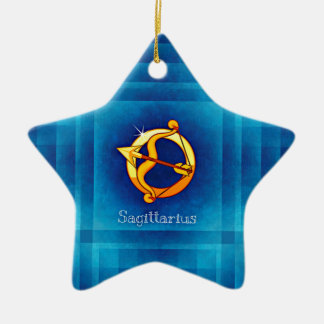 sagittarius horoscope ceramic ornament