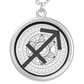 Sagittarius Horoscope Zodiac Astrology Necklace