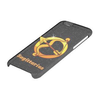 Sagittarius illustration clear iPhone 6/6S case