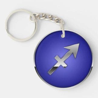 Sagittarius Key Ring