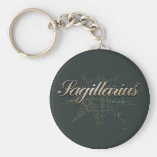Sagittarius Keychain